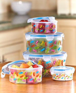 10-Pc. Airtight Food Storage