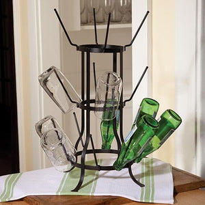 Wine Bottle Juice Glass Tree
