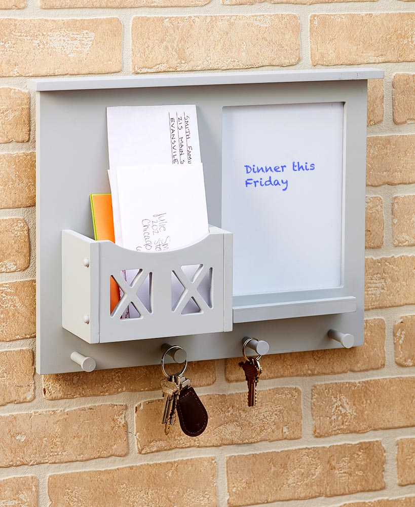 Wall-Mounted Barn Door Mail Holders