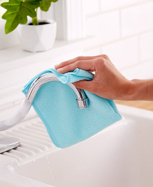 Waffleweave or Microfiber Cleaning Cloth Set