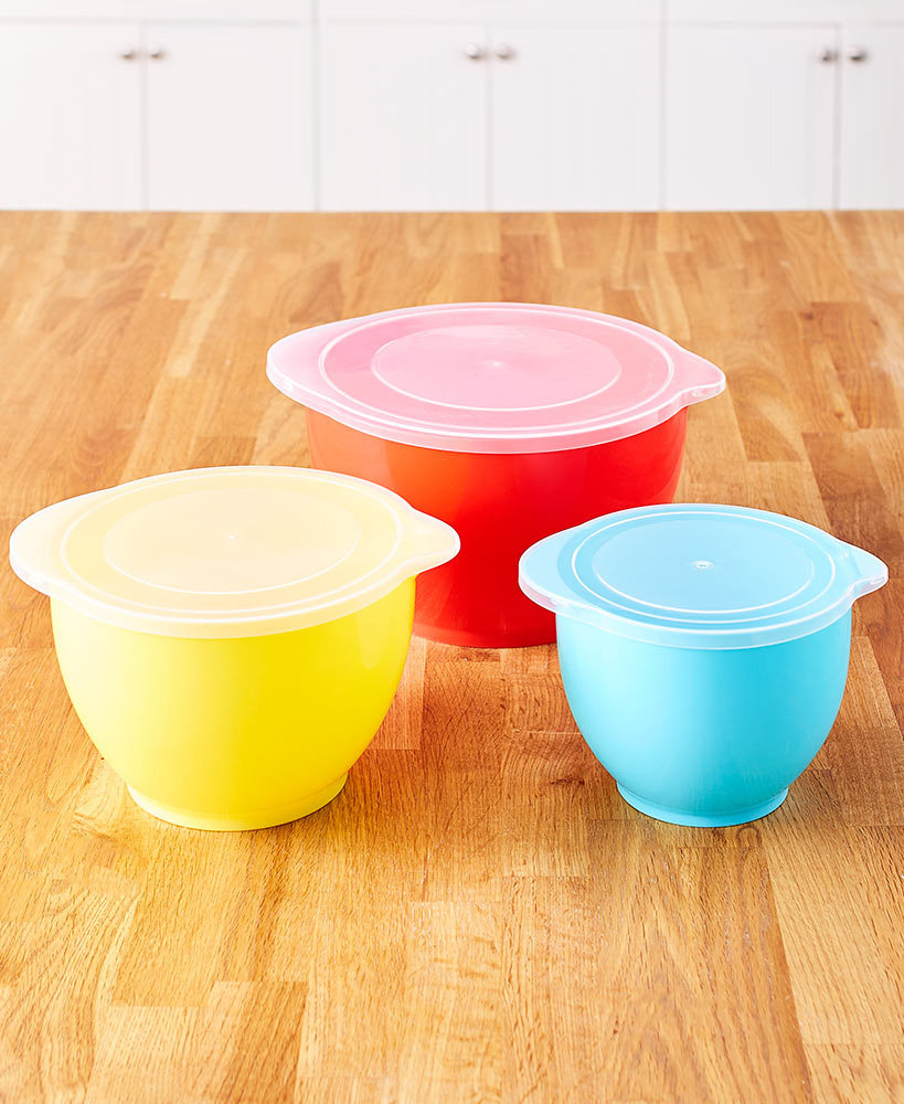 6-Pc. Nesting Batter Bowls with Lids