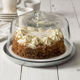 Glass Dessert Cloche With Base 12'' dia. x 8''H with the farm house look for your baked goods