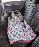 Quilted Car Back Seat Covers