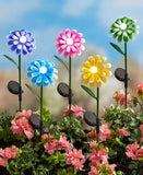 Solar Bubble Light Flower Stakes