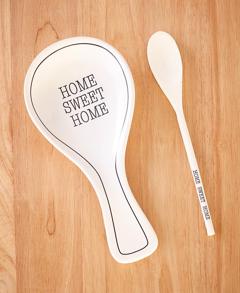 Whimsical Spoon Rest with Spoon