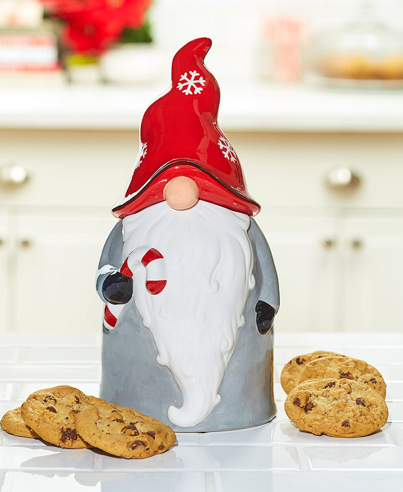 Ceramic Gnome Cookie Jar