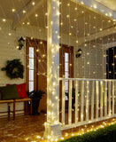 10-Ft. LED Icicle Curtain Lights