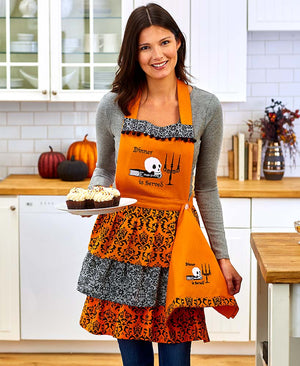 Seasonal Apron and Towel Sets