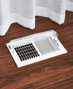 Unbreakable Floor Heat/Air Deflector