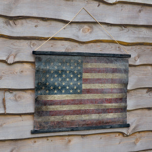Canvas Flag Wall Decor