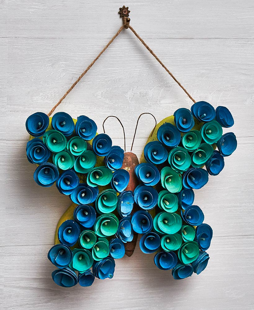 Wood Curl Novelty Wall Hangings