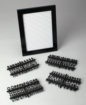 Desktop Changeable Letter Boards