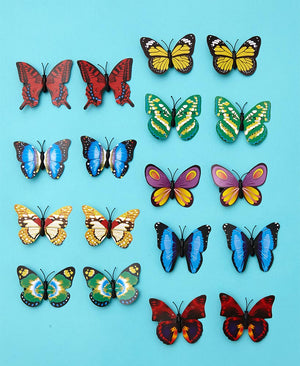 Set of 18 Butterfly Stakes or Clips