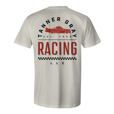 Tanner Gray Racing Tee - Men's