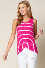 Load image into Gallery viewer, Twist Front Knit Tank Top