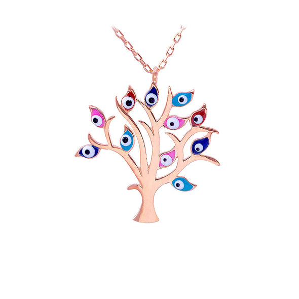 all-eyes-on-me-rose-gold-plated-silver-necklace