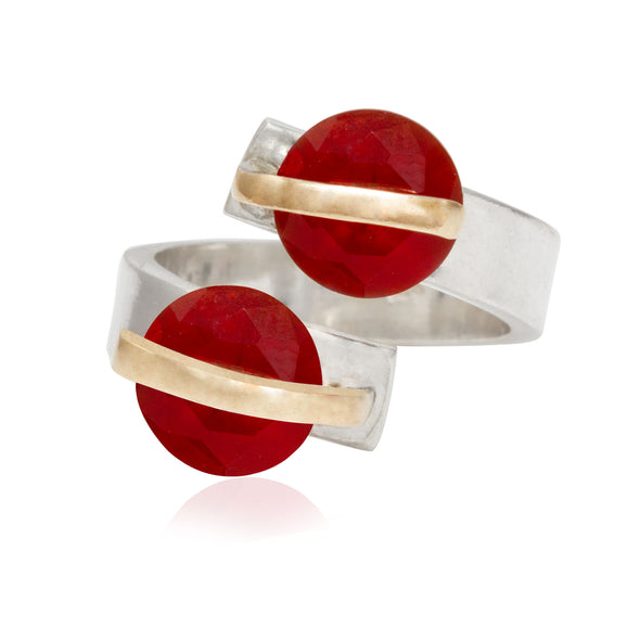 alter-ego-twin-red-crystals-adjustable-silver-ring