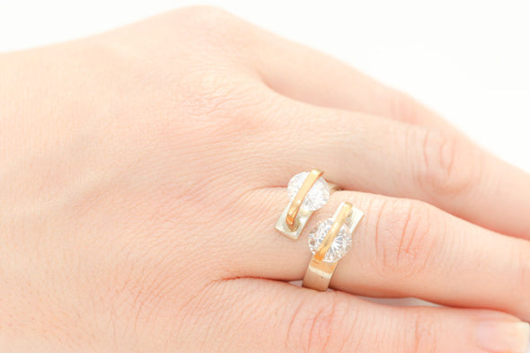 alter-ego-twin-white-crystals-adjustable-silver-ring-2
