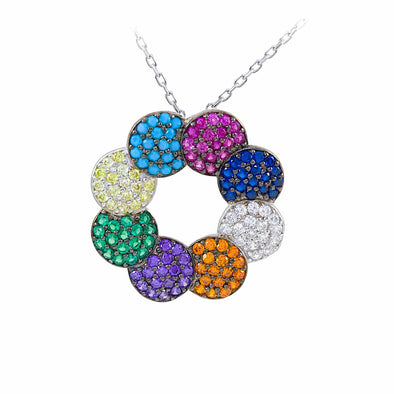 circle-of-life-silver-necklace