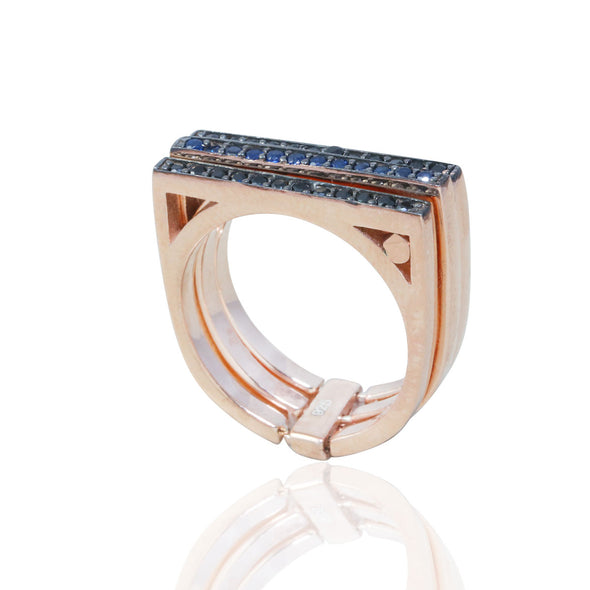 dreams-come-true-three-row-rose-gold-plated-silver-stacking-ring