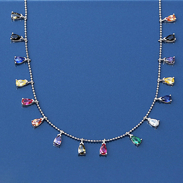 drumming-raindrops-colourful-silver-necklace-2