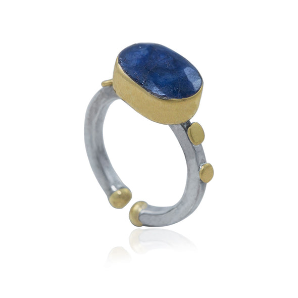 fake-it-oval-cut-lapis-adjustable-silver-ring