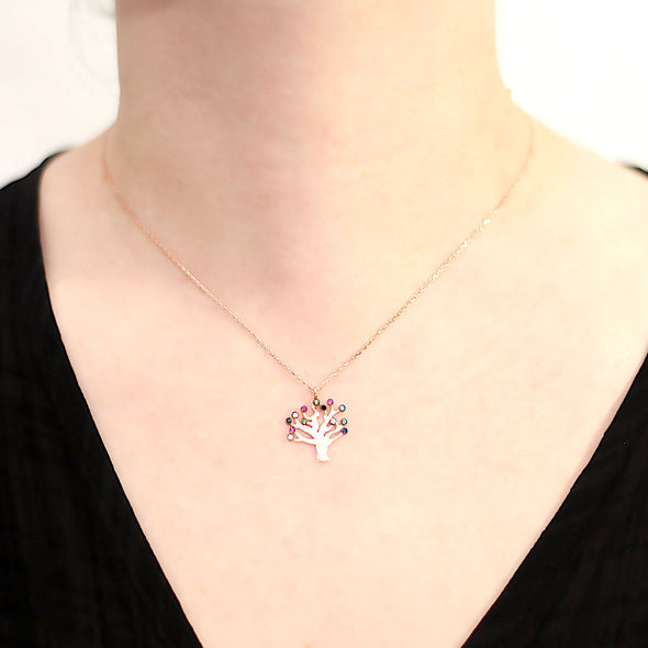 flowering-cherry-tree-rose-gold-plated-silver-necklace-1