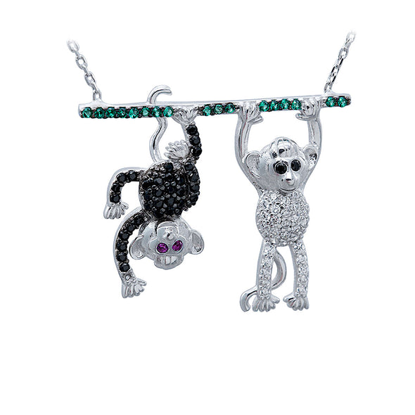 hang-in-there-bff-monkeys-silver-necklace
