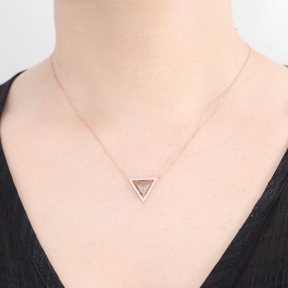 maslow-s-pyramid-of-needs-rose-gold-plated-mint-green-silver-necklace-1