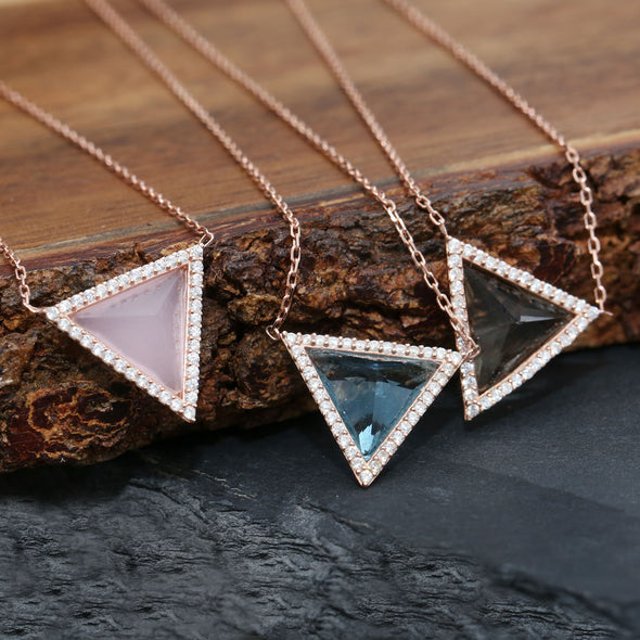 maslow-s-pyramid-of-needs-rose-gold-plated-mint-green-silver-necklace-4