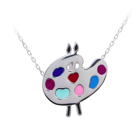 palette-of-colours-silver-necklace
