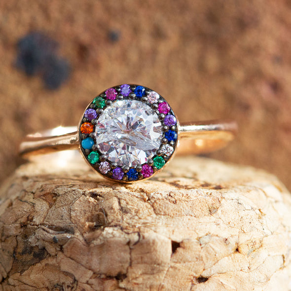 rainbow-unicorn-halo-rose-gold-plated-silver-ring-2