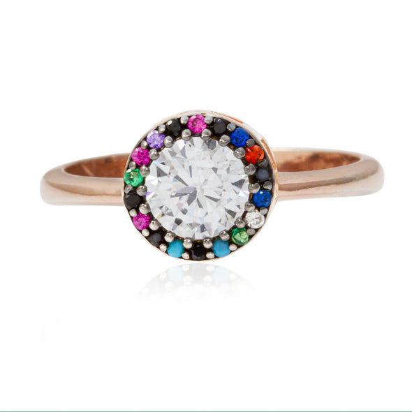 rainbow-unicorn-halo-rose-gold-plated-silver-ring