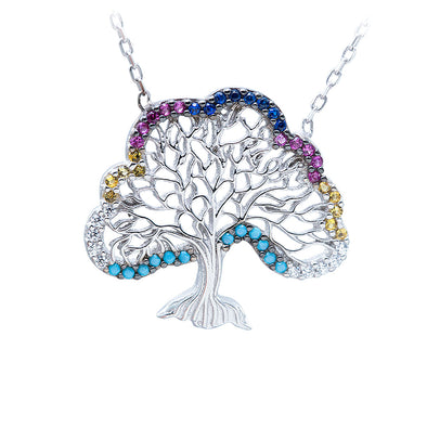 spreading-kindness-tree-silver-necklace