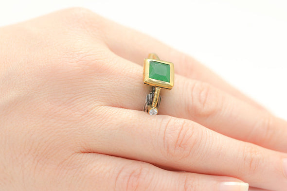 stop-and-stare-green-square-silver-trilogy-ring-1