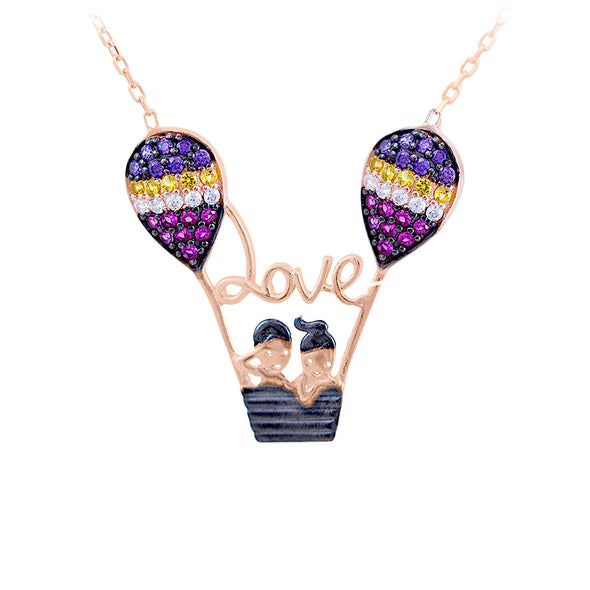 air-balloon-lovers-rose-gold-plated-silver-necklace