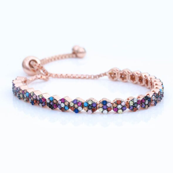 garden-of-rainbow-flowers-rose-gold-plated-silver-bracelet-2