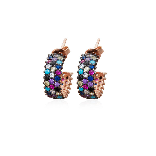 jump-over-the-rainbow-rose-gold-plated-silver-hoop-earrings