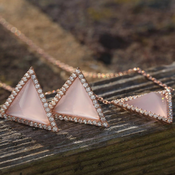 lemonade-pink-triangle-rose-gold-plated-silver-earrings-mood-indicators-2