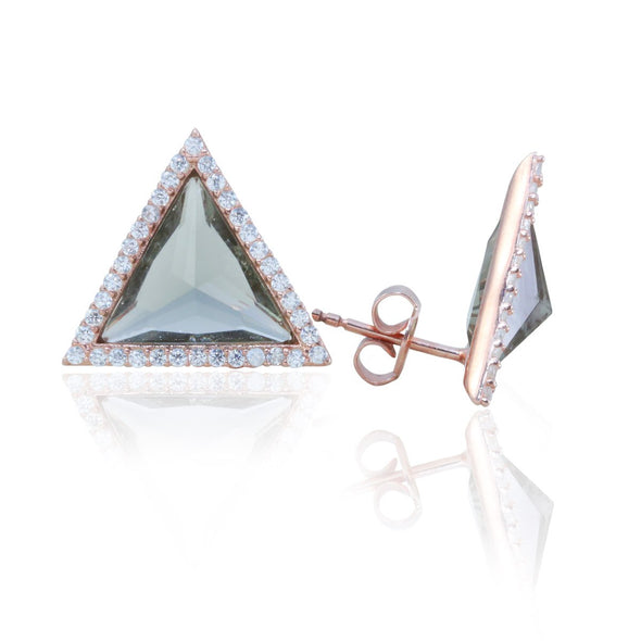 refreshing-mint-triangle-rose-gold-plated-silver-earrings-mood-indicators