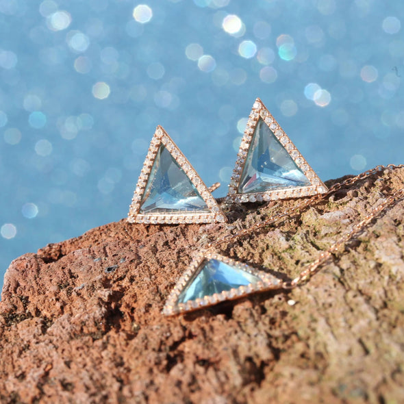 sky-blue-triangle-rose-gold-plated-silver-earrings-mood-indicators-2