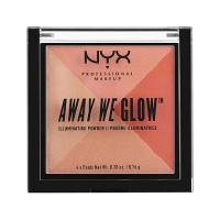 NYX Away We Glow Illuminating Powder - PALETTE Fragrances & Cosmetics