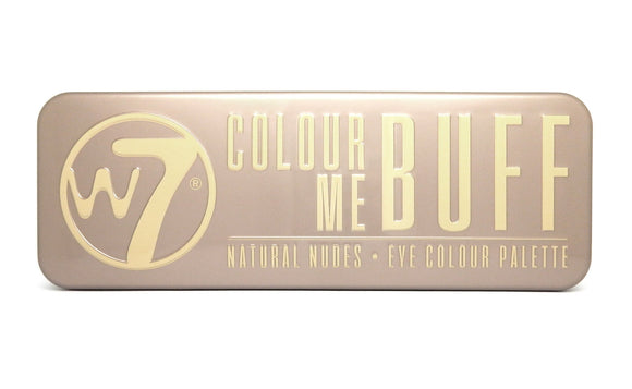 W7 Colour Me Buff Palette - PALETTE Fragrances & Cosmetics