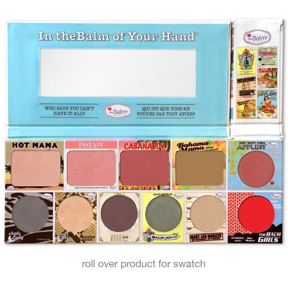 theBalm Cosmetics In the Balm of Your Hand Palette - PALETTE Fragrances & Cosmetics