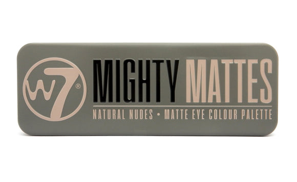 W7 Mighty Mattes Palette - PALETTE Fragrances & Cosmetics