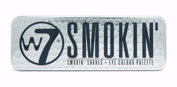 W7 Smokin Palette - PALETTE Fragrances & Cosmetics