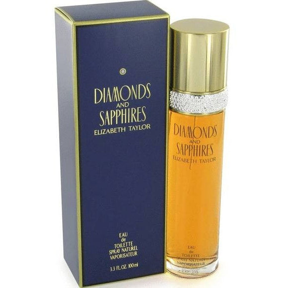 Diamonds and Sapphires by Elizabeth Taylor for women - PALETTE Fragrances & Cosmetics