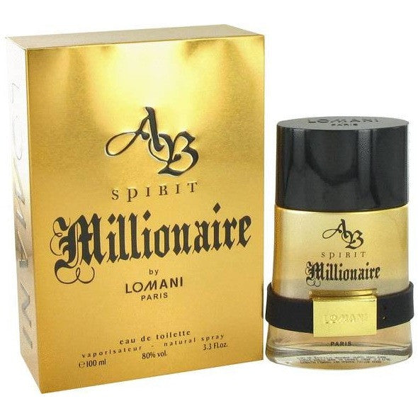 AB Spirit Millionaire by Lomani for men - PALETTE Fragrances & Cosmetics