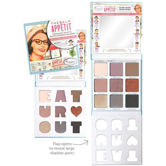 The Balm Appetit Eyeshadow Palette - PALETTE Fragrances & Cosmetics