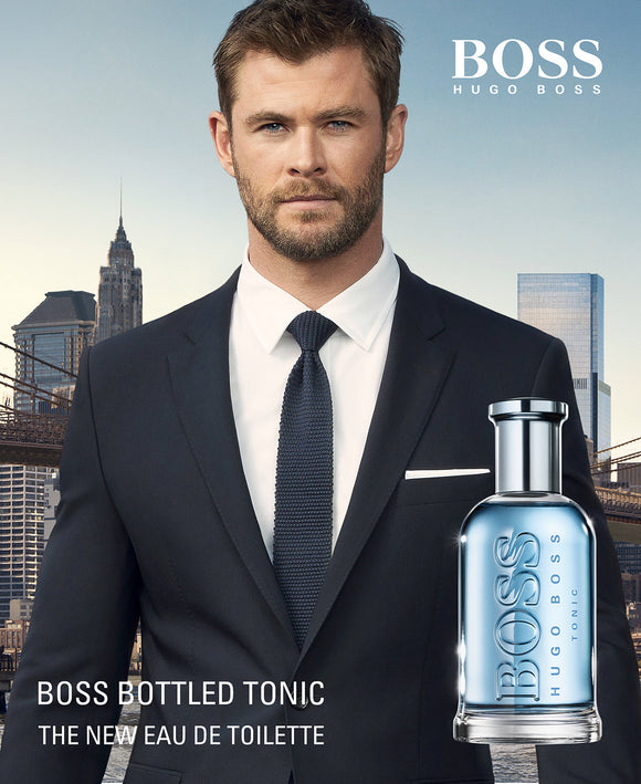 Bottled Tonic by Hugo Boss for men - PALETTE Fragrances & Cosmetics